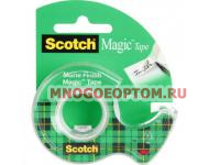 Клейкая лента канц. 3M SCOTCH MAGIC 8-1975D 19х7.5 невидимая